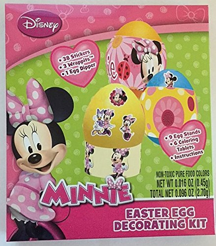 Disney Minnie Mouse Easter Egg Decorating Kit - 1