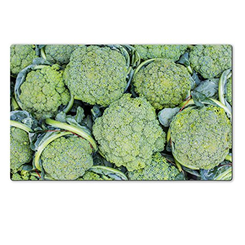 Luxlady Large TableMat IMAGE ID 31752294 Group of fresh broccoli close up (Brocolli Baby Food compare prices)