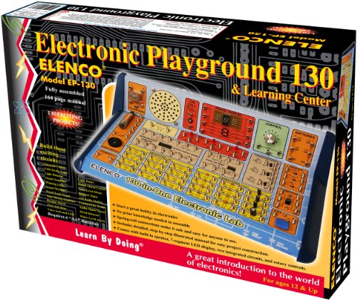 Elenco  130-in-1 Electronic Playground and Learning Center (Crystal Radio Kit compare prices)