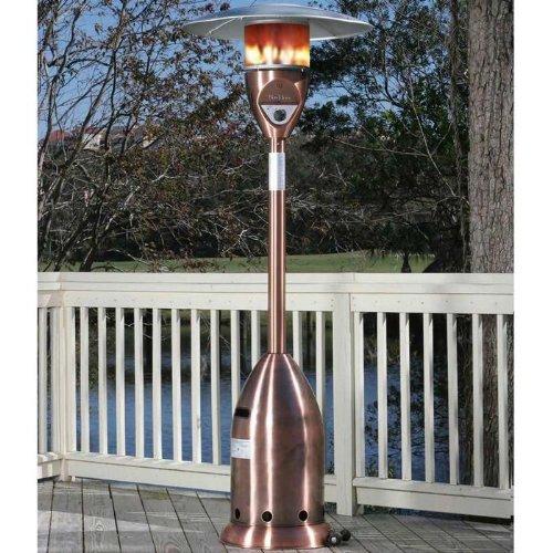 Fire Sense Deluxe Patio Heater, Copper Finish