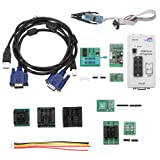 RT809F Display ISP Programmer With SOP8 Test Clip 1.8V Adapter TSSOP8/SSOP8 10 Adapters - Compatible SCM & DIY Kits Programmer & Logic Analyzer
