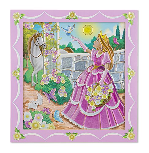 Melissa & Doug Peel & Press Sticker by Number - Princess
