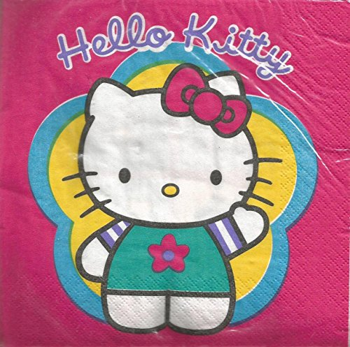 Hello Kitty Napkins 16ct. 3-ply