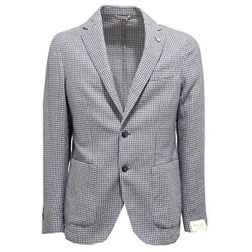 2535O giacca L.B.M. 1911 blu/bianco giacche uomo jackets men [50]