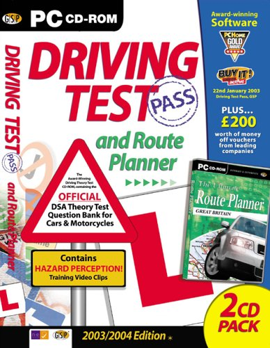 Driving Test 2003/2004 and Route Planner
