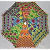 Lalhaveli Single Cotton Cushion Cover Embroidery Work 24 Inches - B00HHR1LYI