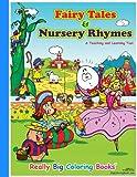 Big Book of Fairy Tales & Nursery Rhymes Giant Super Jumbo Coloring Book (18 x 24)