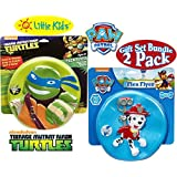 Little Kids Flex Flyer (Kids Soft & Safe Frisbee) Nickelodeon's Teenage Mutant Ninja Turtles & Paw Patrol Gift...