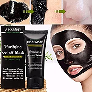 Blackhead Cleansing Mask LuckyFine Acne Face Mask Deep Clean Blackhead Oil-control Anti-aging Acne Treatment