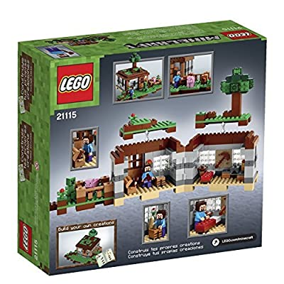 4 X LEGO Minecraft 21115 The First Night by LEGO