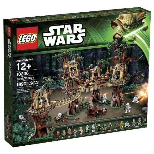 LEGO Star Wars Ewok Dorf Set 10236