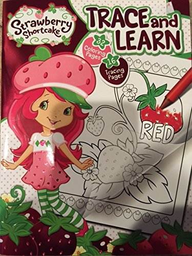 Strawberry Shortcake Trace and Learn Activity Book - 1