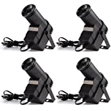 Donner 4-Pack Spotlight Stage Effect Pinspot LED Light DL-5 10W 6CH RGBW Auto/DMX DJ Lightning Control (Color: 4 pack, Tamaño: 4 pack)