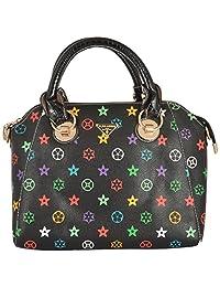 Limit Women's PU Handbag (Black, IDB01)
