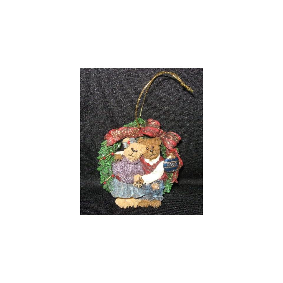 Boyds Bears & Friends Holly & Barry Ornament