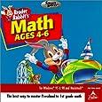 HB Reader Rabbit Math Adventure Ages 4-6 (Jewel Case) (PC and Mac)