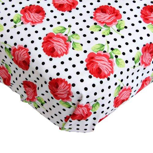 Coral Crib Sheets front-925009