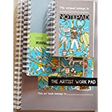 Designer Work Pad (Stationery - Set Of 3)