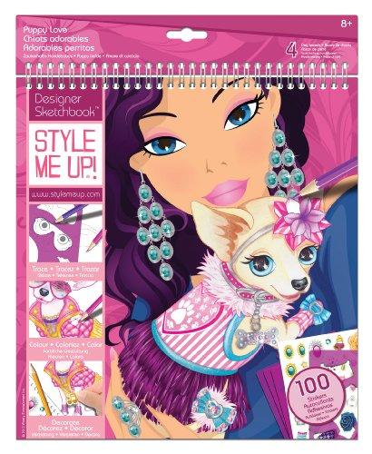 Grandi Giochi Fa11451 Fashion Angels Fashion Design Coloring Portfolio Libri E Quaderni Da