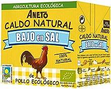Caldo Natural Aneto De Pollo Eco Bajo En Sal 500Ml