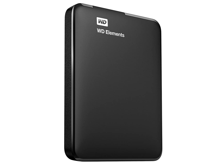 Disque dur externe WESTERN DIGITAL ELEMENTS WDBUZG0010BBK NOIR 1TO