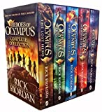 img - for Heroes of Olympus Complete Collection 5 Books Box Set -The Lost Hero/The Son of Neptune/The Mark of Athena/The Blood of Olympus by Rick Riordan (2015-06-07) book / textbook / text book