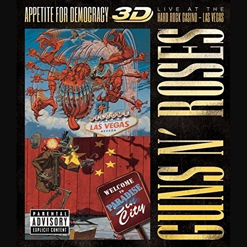 Appetite For Democracy 3D: Live At The Hard Rock Casino, Las Vegas [Copy]