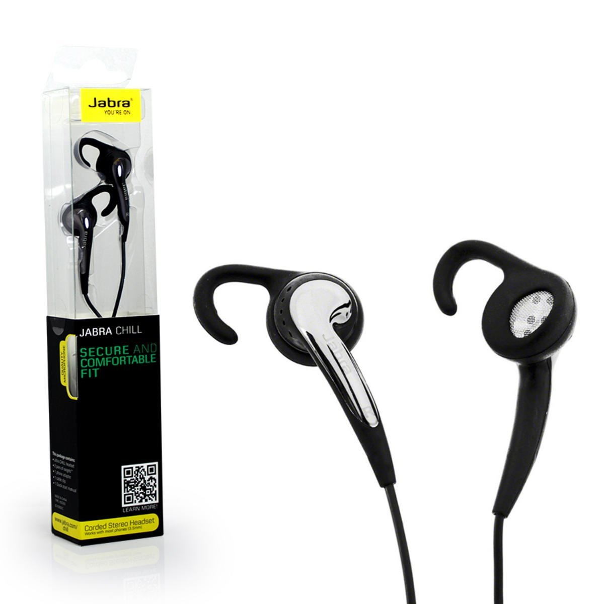 Upto 70% off On Headphones By Amazon | Jabra Chill Corded Stereo Headset (Black) @ Rs.399