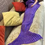 BG® Cute Dark Purple Mermaid Tai...