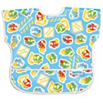 Bumkins Waterproof Junior Bib, Constr...