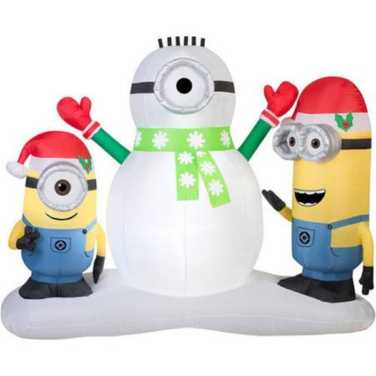 Minions Outdoor Christmas Inflatables | Christmas Wikii