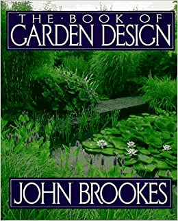 The book of garden design john brookes 9780025166950 for Landscape design books