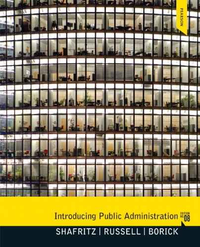 Introducing Public Administration (8th Edition)
