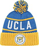 UCLA Bruins Mitchell & Ness High 5 Cuffed Premium Knit Hat - Blue at Amazon.com