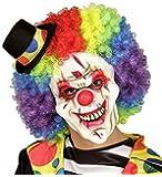 Demi masque clown tueur taille unique jeux - Jeux de clown tueur gratuit ...