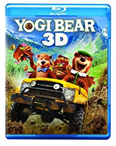 Yogi Bear Three-disc Combo Blu-ray 3d Blu-ray Dvd Digital Copy by Warner Home Video