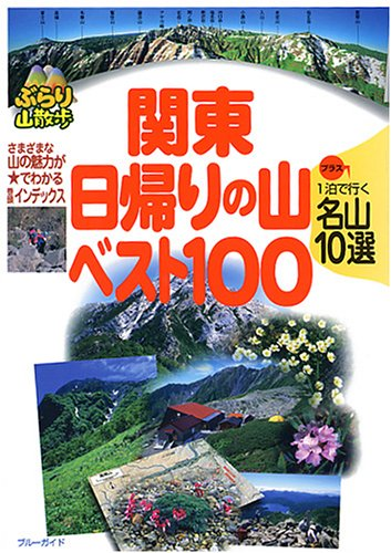 関東日帰りの山ベスト100  1泊で行く名山10選も収録 (ブルーガイドぶらり山散歩)