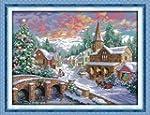 Cross Stitch Christmas Tree With Brid...