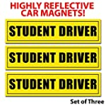 Student Driver Magnets (Set of 3) - R...