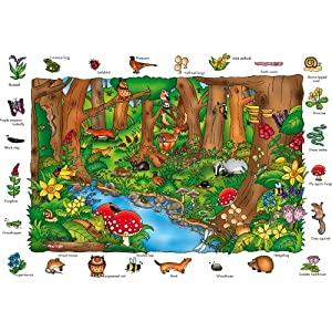 Where in the Wood? Puzzle &#8211; Orchard Toys