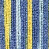 Village Yarn Craft Cotton Yarn - Cornflower Stripes