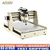 Engraver Machine TBVECHI 3/4 Axis 1.5-2 KW CNC Router Cutting Machine Engraving USB Port (LL3040TUSB) (Tamaño: LL3040TUSB)
