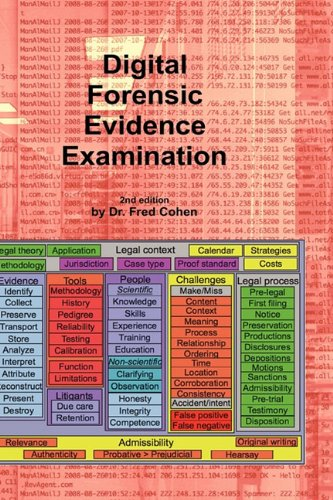 Digital Forensic Evidence Examination - 2nd Ed.