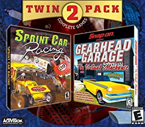 Snap on Gearhead Garage / Sprint Car Racing (Jewel Case) - PC