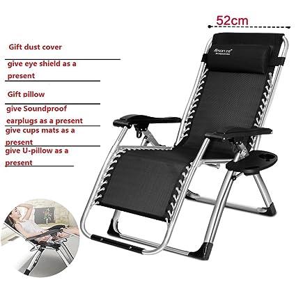 Lit pliant/repose-lit/chaise pliante simple de salon/chaise de sommeil pour la pause déjeuner/sieste office/lit de camp-A