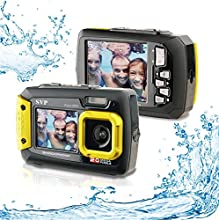 20MP Waterproof ACQUA 8800 Shockproof UnderWater Digital Camera Video recorder (Yellow) By SVP