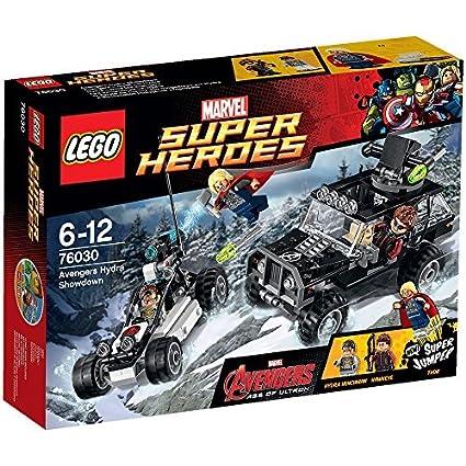 LEGO - 76030 - Marvel Super Heroes - Jeu de Construction - Hydra contre les Avengers