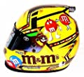 AUTOGRAPHED 2016 Kyle Busch #18 M&Ms Racing (Joe Gibbs Team) Beam Designs Signed Lionel 1/2 Scale NASCAR Replica Collectible Mini Helmet with COA (Limited Edition!)