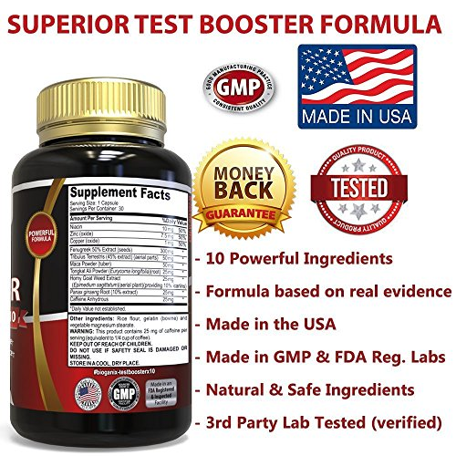 Testosterone Booster Supplement – Alpha Male Max Potency ...