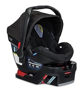 Britax B-Safe Infant Car Seat and Stroller Combo, Black